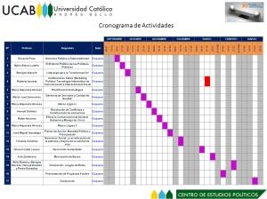 Cronograma de Guayana. NOTA: Click en la imagen para agrandar.