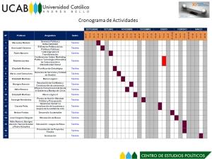 Cronograma de Táchira. NOTA: Click en la imagen para agrandar.