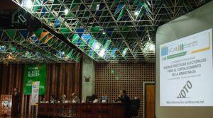"""El Congreso Internacional """"Buenas Prácticas Electorales para el Fortalecimiento de la Democracia"""" fue organizado por la Universidad Católica Andrés Bello   Cortesía Prensa UCAB"""