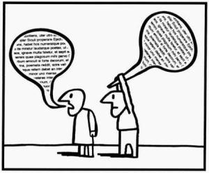 La violencia del lenguaje