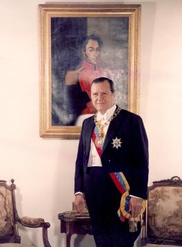 Retrato de Rafael Caldera 1969