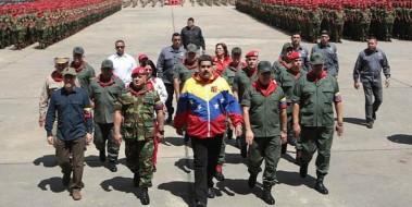 Buhola-gobierno-de-venezuela-muestra-su-musculo-militar-en-medio-de-dialogos