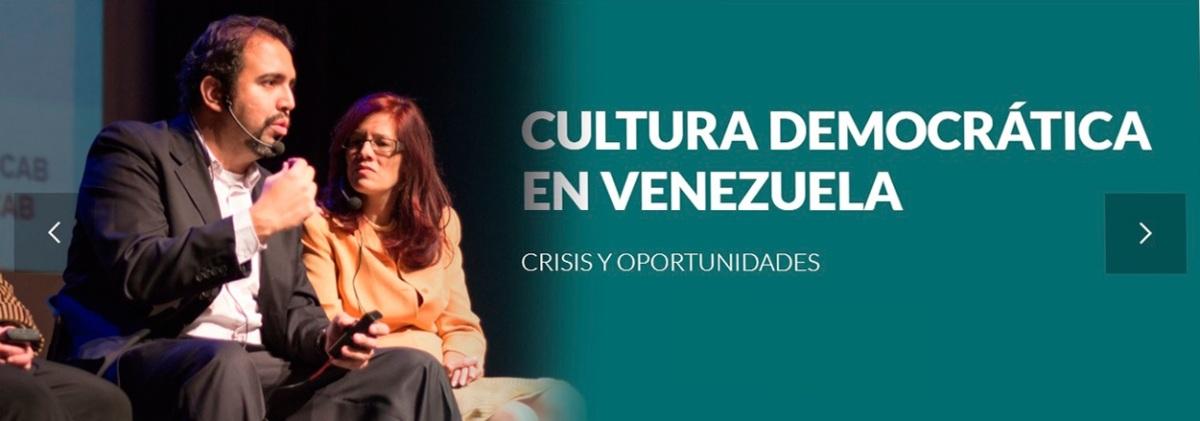 Cultura Democrática: Valoración del sistema político Venezolano