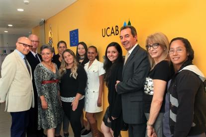 El equipo del Centro de Estudios Políticos y de Gobierno de la UCAB