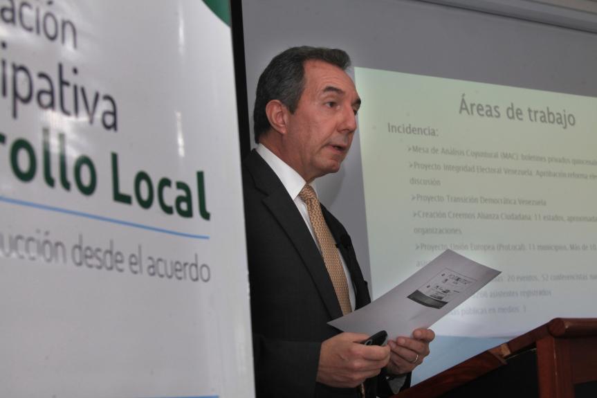 Benigno Alarcón, director del CEPyG