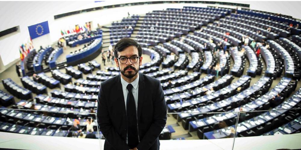Dip Miguel Pizarro en la Eurocámara